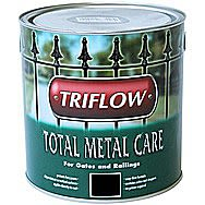 Triflow Total Metal Care Paint For Metal 1 Litre Black
