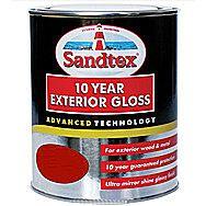 Sandtex 10 Year Exterior Gloss - Pillar Box Red 750ml