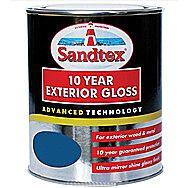 Sandtex 10 Year Exterior Gloss - Oxford Blue 750ml
