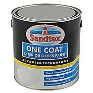 Sandtex 10 Year Exterior Gloss - White 750 ml