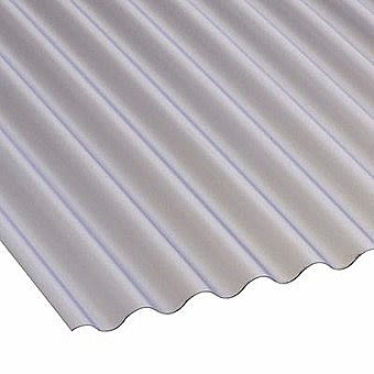 Brett Martin 10 x 2 Feet PVC Mini Profile Marvec Sheeting