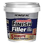 Ronseal 5 Minute Multi-purpose Fine Finish Smooth Filler 330ml