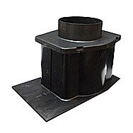 Glidevale Universal Extension Sleeve Slate And Tile Vent Duct Adaptor