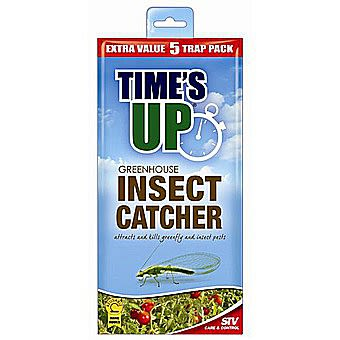 STV Times Up Greenhouse Insect Catcher Pack Of 5 STV017