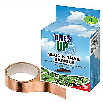 STV Times Up Slug And Snail Barrier Tape 4 Metres STV097