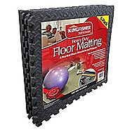 Kingfisher Homeware EVA Foam Interlocking Mat Tiles Pack of 6
