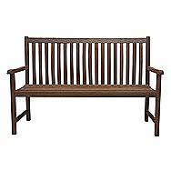 Bologna 3 Seater Hardwood Garden Bench
