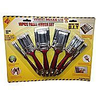 Tool Mate 10 Piece Paint Brush Set