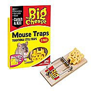 STV The Big Cheese Baited RTU Mouse Trap- Twin Pack