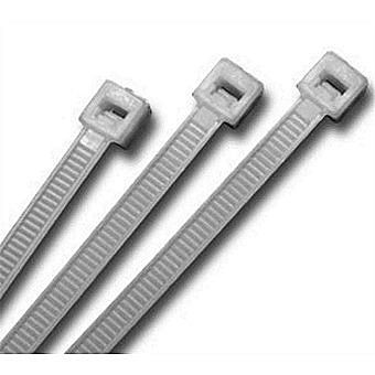 Olympic Fixing Clear Cable Ties 300 x 4.8mm Pack of 100