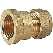 Compression Brass Female Straight 3/8 Inch x 8mm