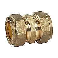 Compression Straight Brass Connector 8mm