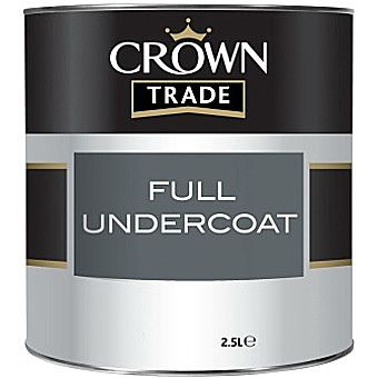 Crown Trade Undercoat Charcoal Grey 1 Litre