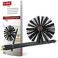 DeVielle 9 Piece Chimney Cleaning Kit DEF762306