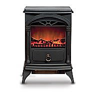 De Vielle 1800 Watt Electric Fire Small Imitation Stove DEF979415