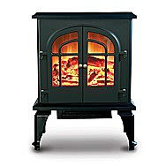 De Vielle 2000 Watt Electric Fire Large Imitation Stove DEF979408