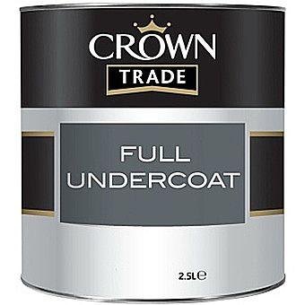 Crown Trade Undercoat Charcoal Dark Grey 1 Litre
