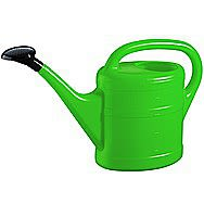 Green Plastic Watering Can 5 Litres
