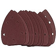 Draper 31977 Assorted Grit Hook And Loop Sander Pack Of 10