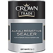 Crown Trade Alkali Resisting Off White 1 Litre