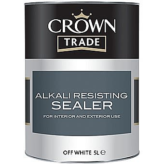 Crown Trade Alkali Resisting Off White 1 Litre