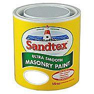 Sandtex White Masonry Paint 10 Litres
