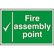 Centurion 1527 Fire Assembly Point  Sign 300 x 200mm