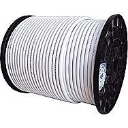 White Television Coax TV Cable