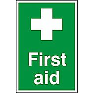Centurion PVC First Aid Sign 300 x 200mm