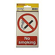 Centurion No Smoking Self Adhesive Vinyl 150 x 100mm
