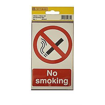 Centurion No Smoking Self Adhesive Vinyl 150 x 100mm