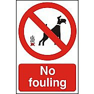 Centurion 3506 Polycarbonate No Fouling Sign