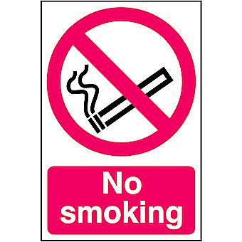Centurion No Smoking PVC Sign 300 x 200mm