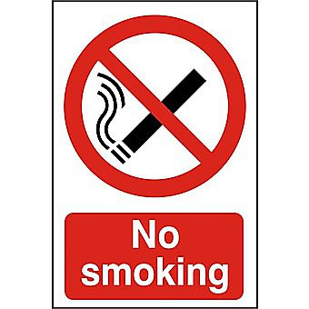 Centurion No Smoking PVC Sign 600 x 400mm