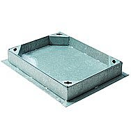 Galvanised Pavior Manhole Cover 600 x 450 x 80mm