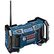 Bosch GML SoundBoxx Site Radio 14.4V, 18V, 240V - AM, FM, MP3