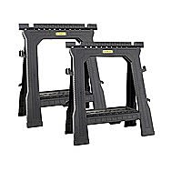 Stanley Folding Saw Horse Twin Pack 170713