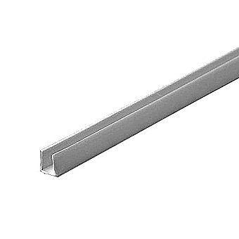 Picture of 1 Metre Aluminium U Channel 8 x 8mm