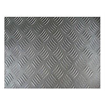 Steel Square Check 1mm Sheet 500 x 250mm No. 80