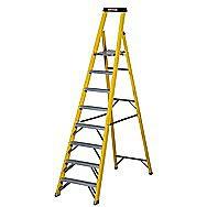 Werner 8 Tread Step Ladder with Platform