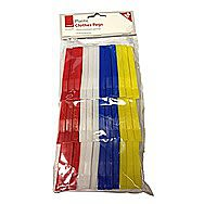 DeVielle Plastic Clothes Pegs Pack of 36