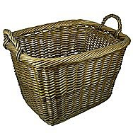 Manor Collection Willow Country Log Basket - 0397