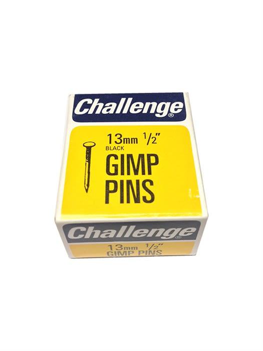 "Black 1//2/"" Challenge Gimp Pins Box Pack"