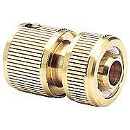 Draper 36199 Expert Brass 1/2 Inch Garden Hose Connector