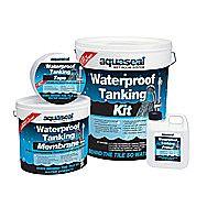 EverBuild Aquaseal Waterproof Tanking Kit