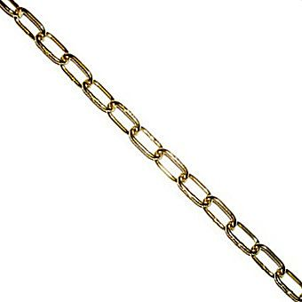 Picture of 3/8 Inch Brass Oval Link Chain