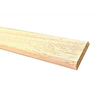 Burbidge Light Hardwood Standard D Shape 47 X 6 X 2400mm