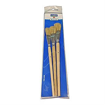 Mako 3 Piece Brush Set