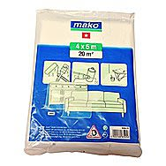 Mako All Purpose Decorating Cover Dust Sheets 4 x 5m