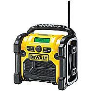 Dewalt DCR020 XR Compact DAB+ Site Radio 10.8V, 14.4V, 18V, 54V And 240 Volt